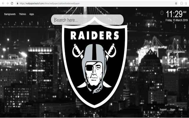 Tapeta na Pulpit Oakland Raiders