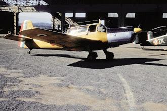 Photo: Guelma mars 1958 - Morane 733