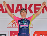 Luka Pibernik hangt zijn fiets aan de haak