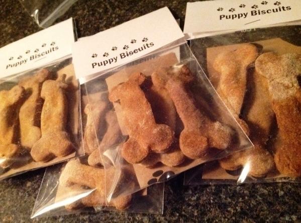 Pumpkin & Peanut Butter Doggie Biscuits Recipe