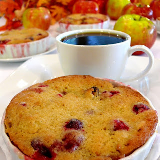 Cranberry-Apple Cobblers