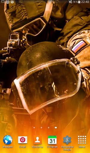 Спецназ России живые обои
