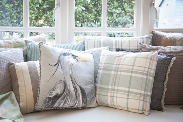 4. George spring home cushions