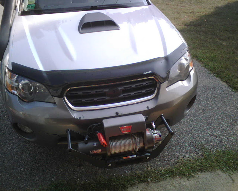 subaru outback subaru outback forums test fit for winch mount. Black Bedroom Furniture Sets. Home Design Ideas