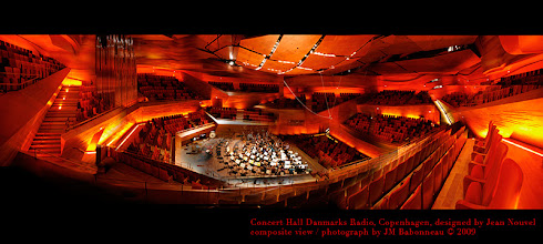 Photo: COPENHAGEN Concert Hall by Jean Nouvel, at Danmarks Radio, feb. 2009. © photo by jean-marie babonneau www.betterworldinc.org