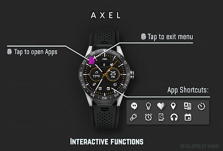 Axel Watch Face Screenshot