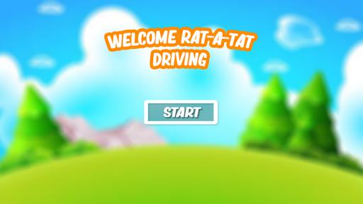 RatA Tat Cartoon Driving Free Gam  captures d'écran 1