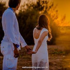 Wedding photographer Walison Rodrigues (WalisonRodrigue). Photo of 26.10.2016