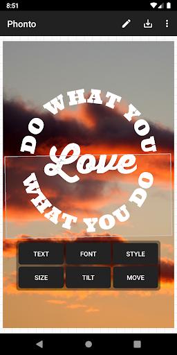 Phonto - Text on Photos 1.7.67 screenshots 2