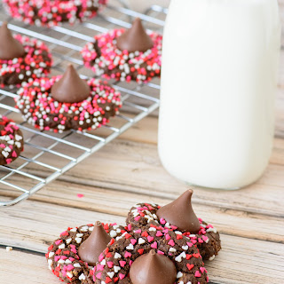 Better For You Chocolate Valentine Cookies