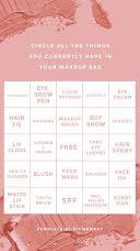 Makeup bingo - Instagram Bingo  item