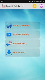 English Full Level - náhled