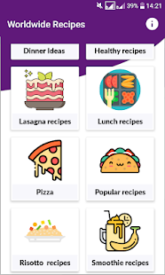 Download Recipy: Popular and Famous Recipes Worldwide. For PC Windows and Mac apk screenshot 2