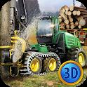 🌲⚙️ Sawmill 🚚 Truck Driver Simulator 3D icon