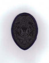 Photo: United States Department of Defense Police at Rivanna Station, Badge