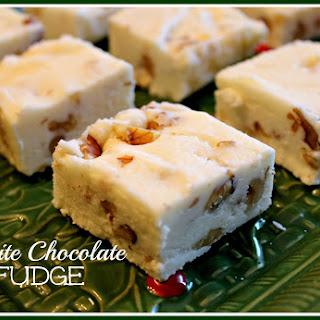 White Chocolate Fudge...It's Easy Peasy!