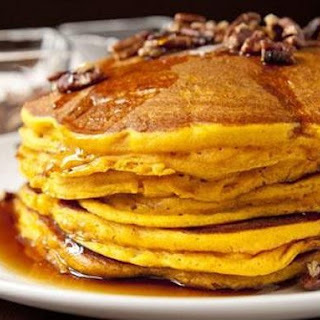 Pecan and Pumpkin Pie Pancakes