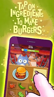 Crazy Cooking for Cats GO: Burger Master Kitchen - náhled