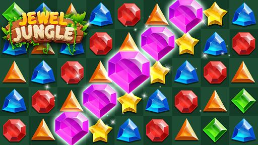 Jewels Jungle Treasure : Match 3  Puzzle apktram screenshots 5