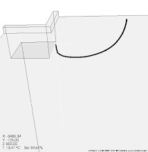 Photo: thermal bridge ground floor slab - heat flow - AnTherm http://antherm.eu