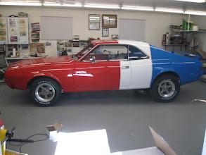 Photo: Brad Klassen's Trans-Am racer tribute car