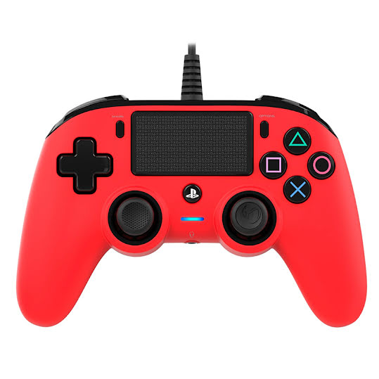 Nacon Compact Controller Red (PS4)