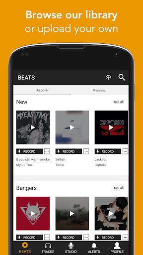 OffTop Studio: Record, Rap & Sing over Beats 21.38 screenshots 2