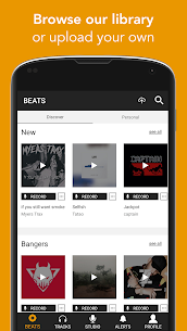 OffTop Studio: Record, Rap & Sing over Beats 21.97 Android Mod APK 2