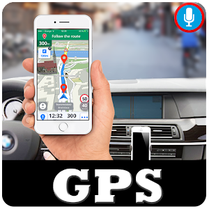 Voice Navigation Earth Map Live - GPS Tracker