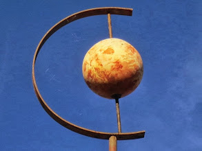 Photo: Beautiful paint job on Venus!  This is within view of Mercury, showing how close the terrestrial rocky planets are!
