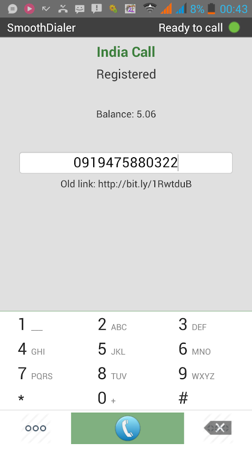 IDIALER Lite Mobile Dialer- screenshot