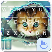 Lovely Kitty Keyboard Theme