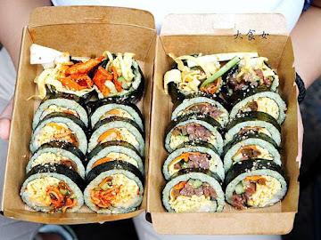 紅gimbap 韓式飯卷