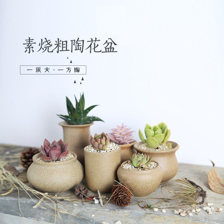 Miniature Ceramic Pot - 11