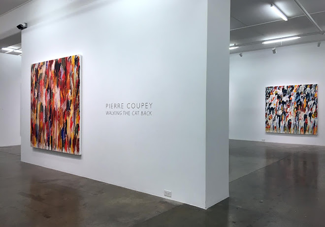 <p> <strong>Pierre Coupey | Walking the Cat Back</strong><br /> Gallery Jones<br /> Vancouver<br /> October-November 2020</p> <p> Photography: Shane O&#39;Brien, Gallery Jones&nbsp;</p>