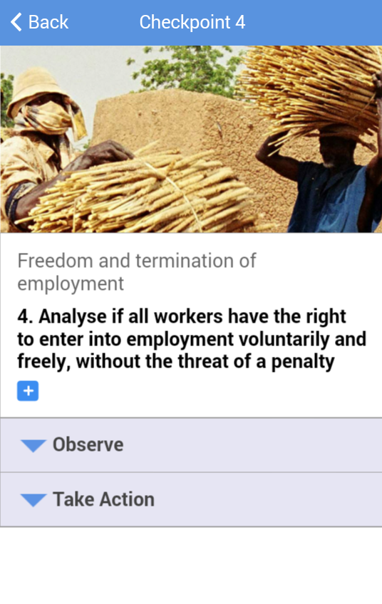 Eliminating Forced Labour- screenshot