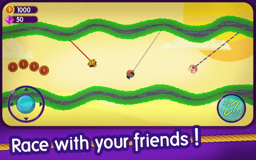 Rope Clash - Multiplayer Swing Racing 3.0.0 screenshots 1