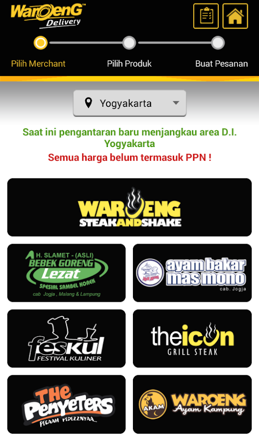 Waroeng Steak and Shake- screenshot