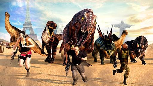 Dino Hunter Sniper 3d: Dinosaur Free FPS Shooting apkdebit screenshots 4