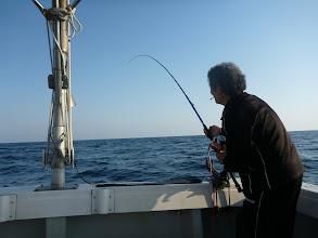 """Photo: 底引き漁師""""ウチダさん""""もキターッ!"""