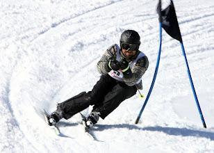 Photo: Alpines Rennen am Weiherkopf des Skiclub Bolsterlang Riesenslalom Torlauf
