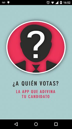 A quién votás