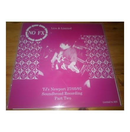 LP - NOFX - Live & Limited Part Two