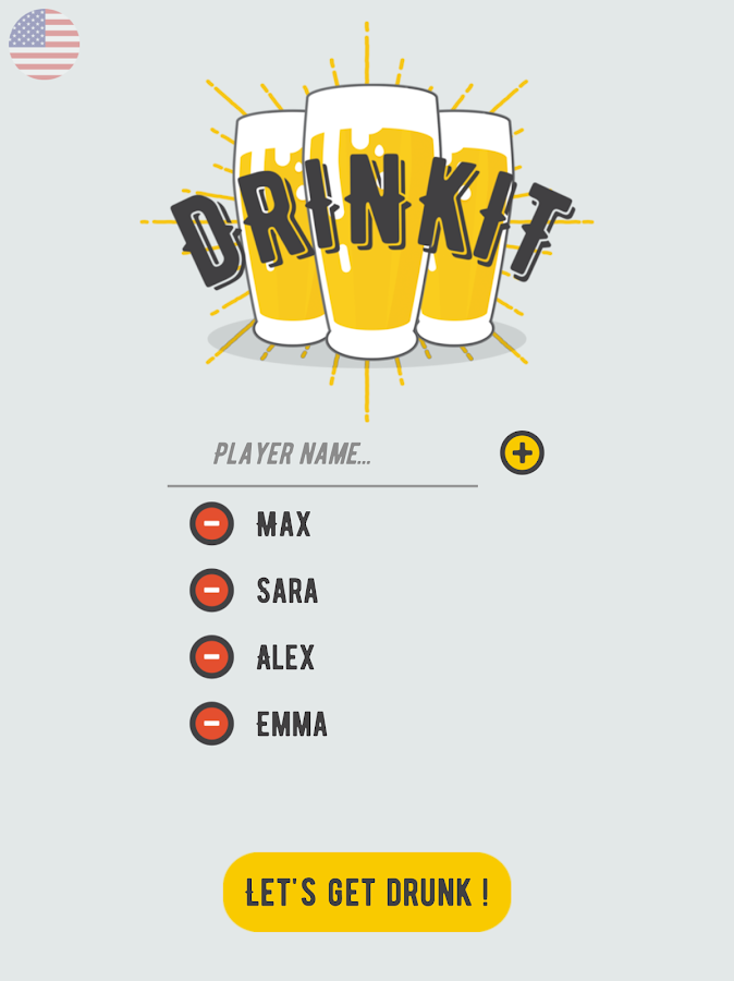Drinkit – Hot Drinking games for friends or couple- screenshot