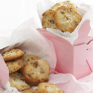 Easy Coconut Chocolate Chip Cookies.