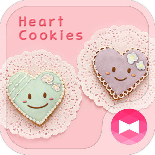 Cute Theme-Heart Cookies- Icon