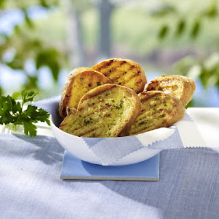 Grilled Lemon Garlic Bread