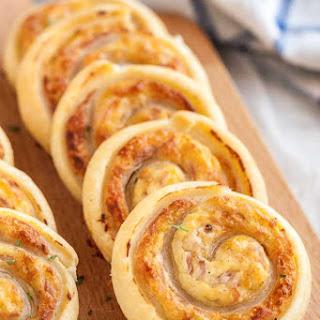 Ham and Cheese Pinwheels.
