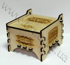 Photo: Коробочка из дерева в подарок. Гравировка и резка модельной фанеры