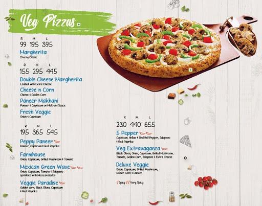 Domino's Pizza menu 2